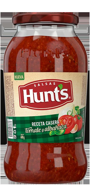 Salsa Hunt's® Receta Casera con Tomate & Albahaca